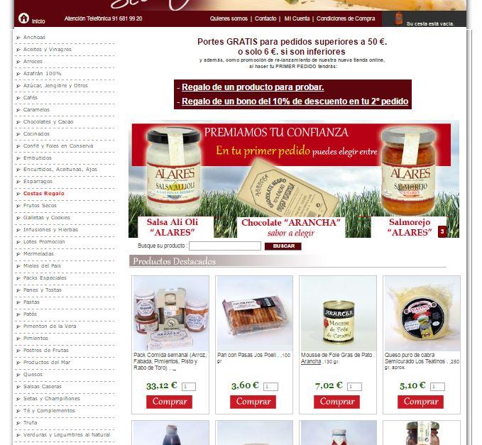 tienda-online-gourmet